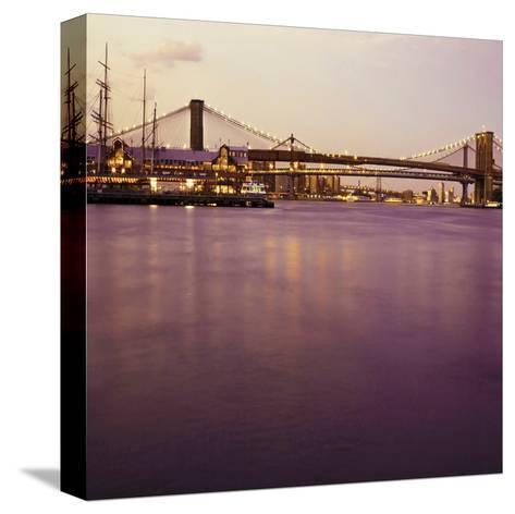 Brooklyn Purple-Tracey Telik-Stretched Canvas Print