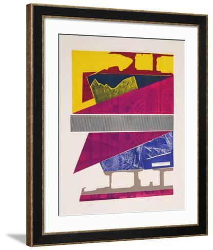 Scalene-Elaine Breiger-Framed Art Print