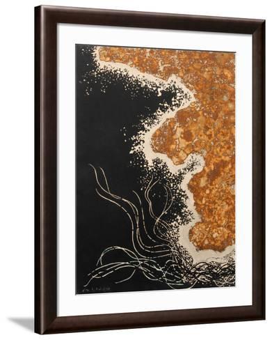 Black and Gold Camp-Yannick Ballif-Framed Art Print