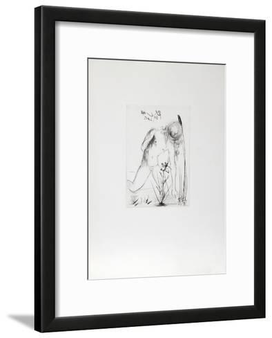 Narcissus-Salvador Dal?-Framed Art Print