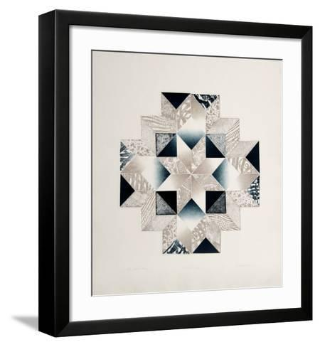 Widow's Cross-Kathy Caraccio-Framed Art Print
