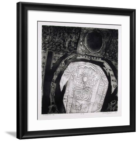 No. V-Arun Bose-Framed Art Print