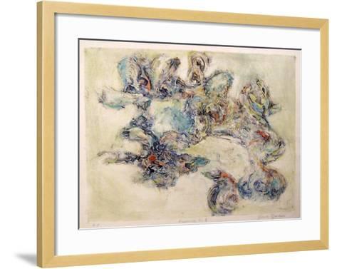 Happening II-Yehuda Jordan-Framed Art Print