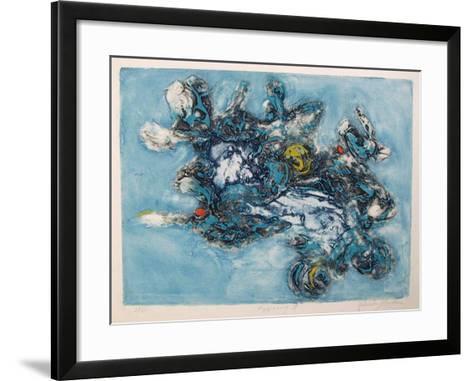 Happening II b-Yehuda Jordan-Framed Art Print