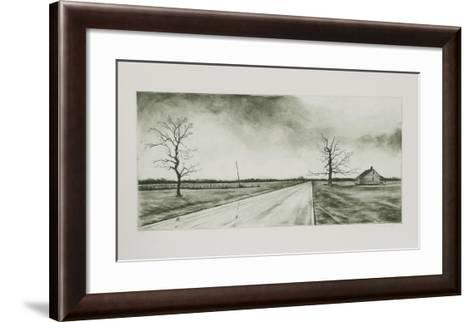 Lonely Road-Harry McCormick-Framed Art Print