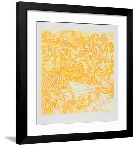 Contemplado-Hector Saunier-Framed Art Print