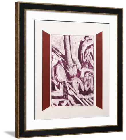 Courageous American Triptych-William R. Scolere-Framed Art Print