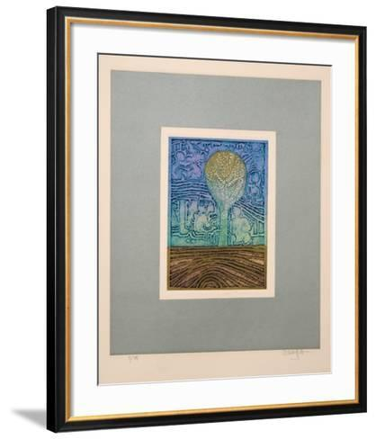 Songs of Veda Suite: Prelude to Creation-Arun Bose-Framed Art Print