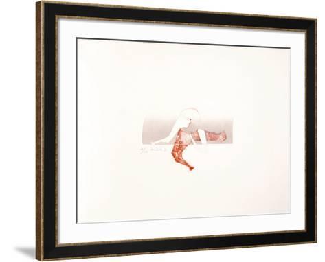 Sin Titulo-Enrique Zanartu-Framed Art Print