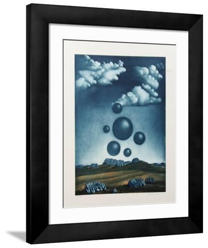 Surrealist Landscape 3-Kurt Schonen-Framed Art Print