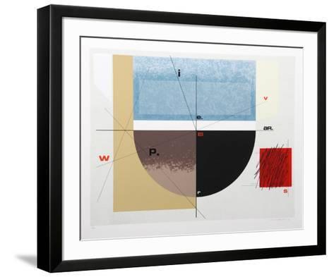 Paris Review-Arnold Hoffman Jr^-Framed Art Print