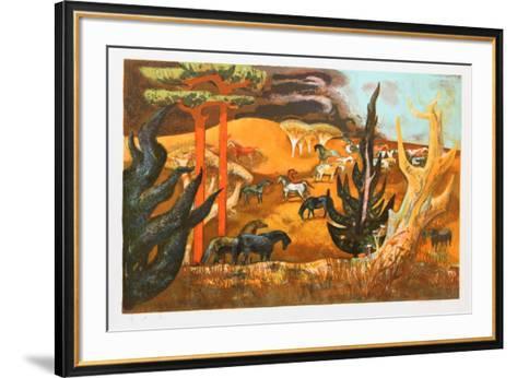 Summer Gold-Millard Owen Sheets-Framed Art Print