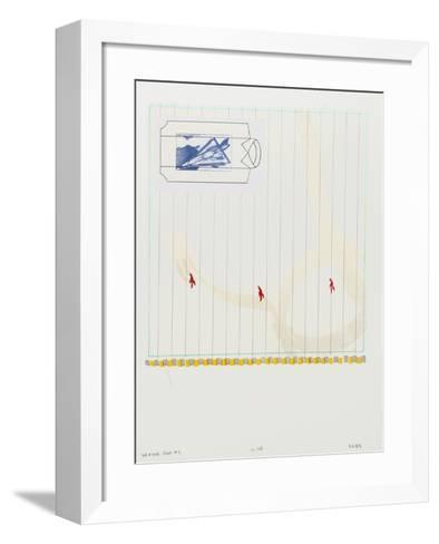 Drifter Plus #1-Glenn Goldberg-Framed Art Print