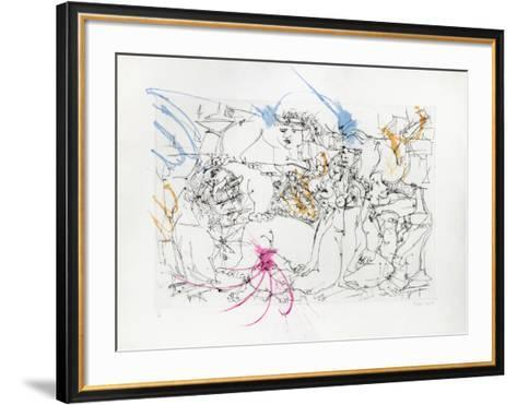 After Picasso III-Dimitri Petrov-Framed Art Print