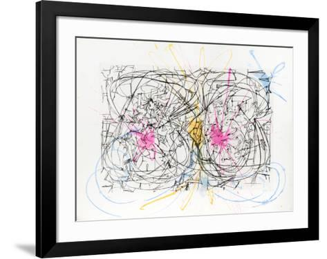 Untitled - Nudes Jumping Rope-Dimitri Petrov-Framed Art Print