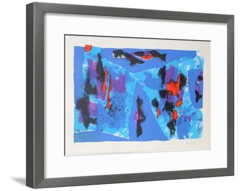Sjecanje na Plavo-Edo Murtic-Framed Art Print