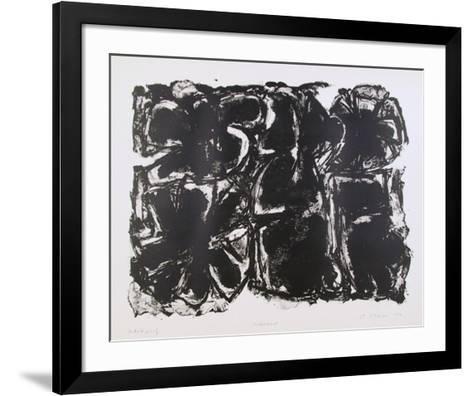 Asteroid-Ronald Jay Stein-Framed Art Print