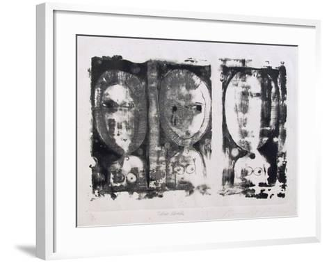 Three Heads-Ronald Jay Stein-Framed Art Print