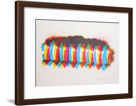 Autobiographical Sketches Portfolio 9-Emmett Williams-Framed Art Print