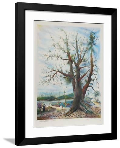 In the Park-Seymour Rosenthal-Framed Art Print