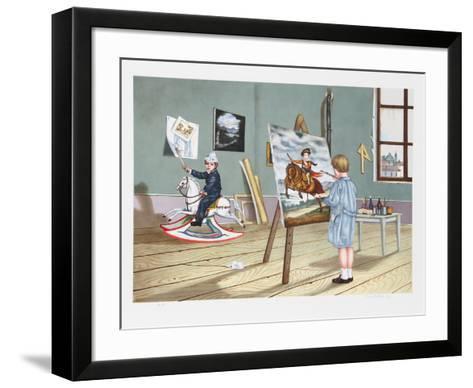 Long Prophecy-Tito Salomoni-Framed Art Print