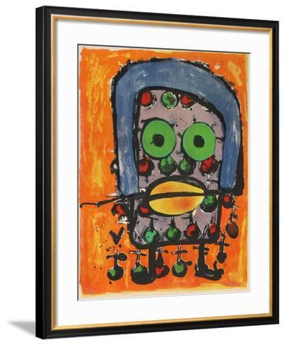 L'Homme-Herve Bordas-Framed Art Print