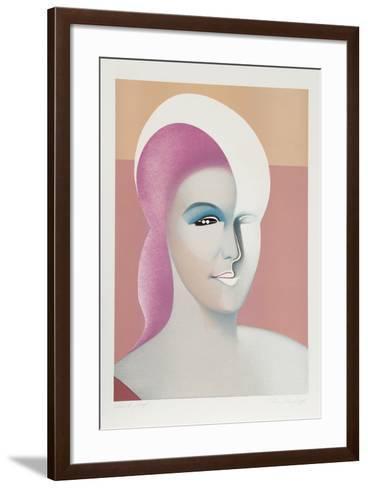 Visages 4-Georgi Daskaloff-Framed Art Print