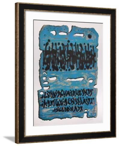 King Solomon's Mines-Moshe Elazar Castel-Framed Art Print