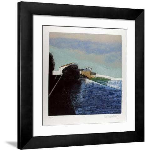 Chiusa-Pino Finocchiaro-Framed Art Print