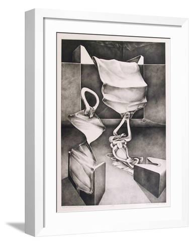 Skyhook, Monument, Finding-Charles Massey-Framed Art Print