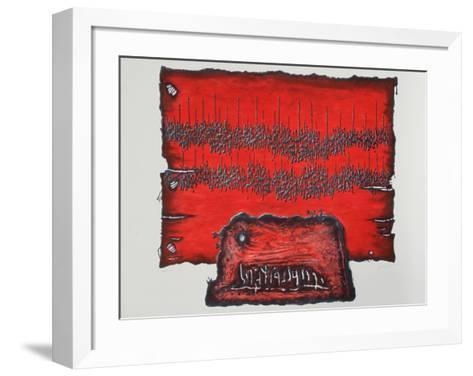 Untitled-Moshe Elazar Castel-Framed Art Print