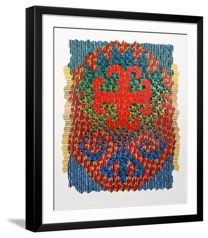 Buckhara Sky-Edward Hansen-Framed Art Print