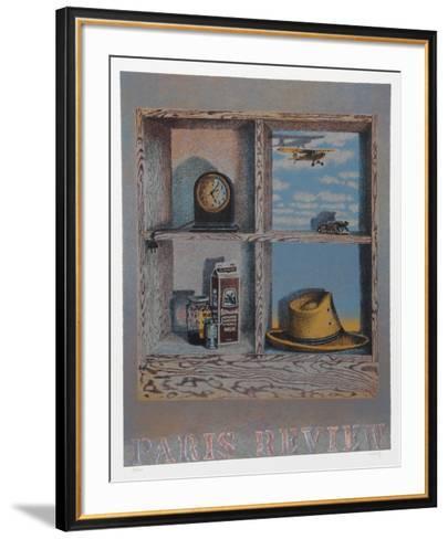 Paris Review-Howard Kanovitz-Framed Art Print