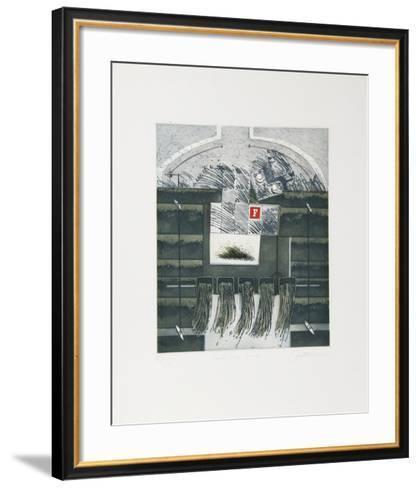 Canes Fines Herbs-Bernard Muntaner-Framed Art Print