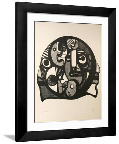 Heads Within-Ronald Satok-Framed Art Print