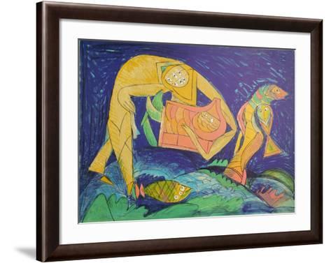 Sauve des Eaux-Julio Silva-Framed Art Print