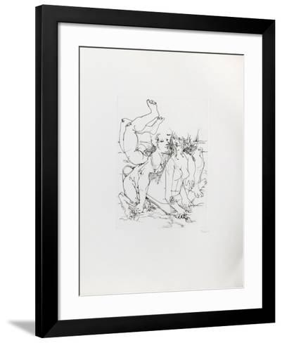 Untitled - Mythical Creatures VI-Dimitri Petrov-Framed Art Print