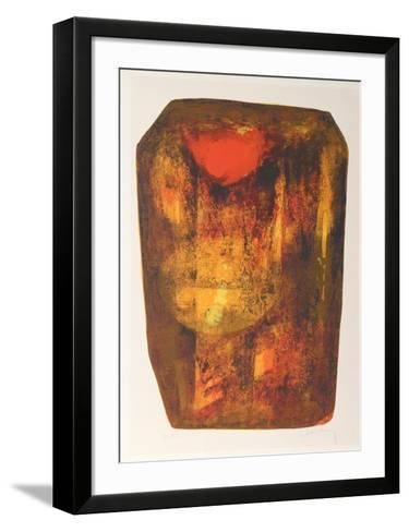 Nature Prays Without Words 1-Lebadang-Framed Art Print