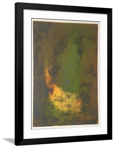 Nature Prays Without Words 2-Lebadang-Framed Art Print