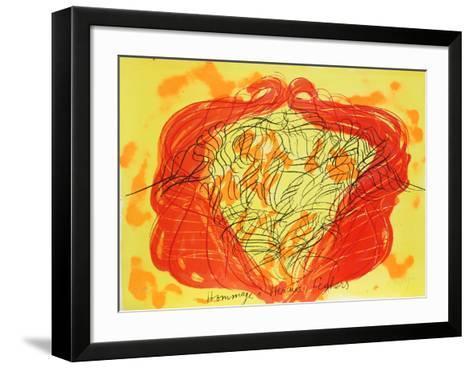 Homage a Hercule Seghers-Jean Messagier-Framed Art Print