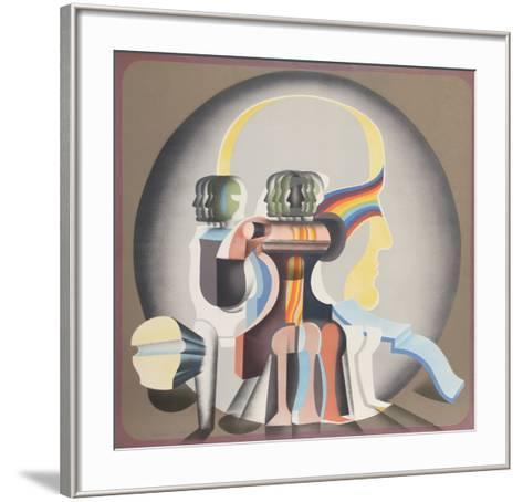 Sin Titulo (Cabeza)-Arnold Belkin-Framed Art Print