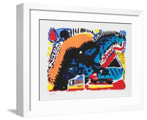 A Night in Tunisia-Vick Vibha-Framed Art Print