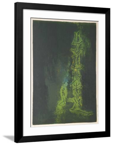 Nature Prays Without Words 6-Lebadang-Framed Art Print