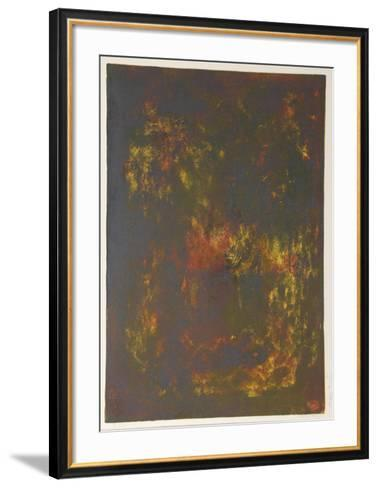 Nature Prays Without Words 7-Lebadang-Framed Art Print