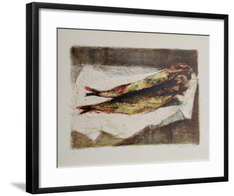 Fresh Fish-Renzo Vespignani-Framed Art Print