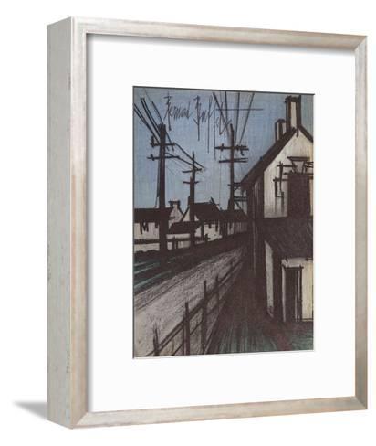 Le Route sur Village-Bernard Buffet-Framed Art Print