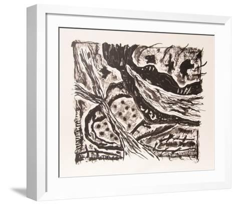 Haven (Black and White)-Gregory Amenoff-Framed Art Print