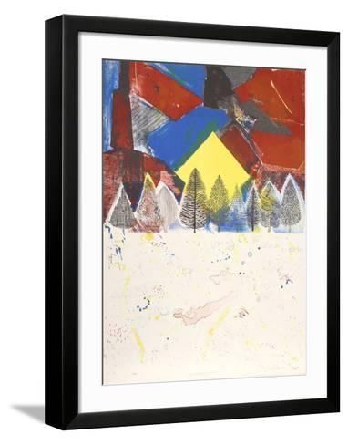 Winter Sunset-Arthur Secunda-Framed Art Print