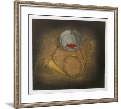 Bugle-Tomoe Yokoi-Framed Art Print