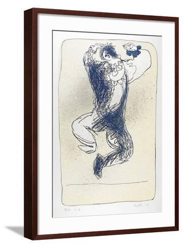 Harlequin Leaping-Juan Garcia Ripolles-Framed Art Print